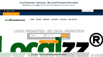 LocalPromoted.com - Local Promoted information. National to local business and information listings