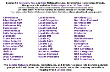The Localzz Network gets close to 100,000 business listings on to 1,000,000